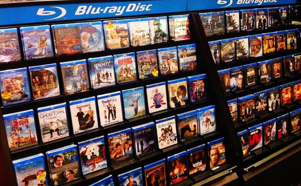 DVD and Blu Ray sales affecting movie making