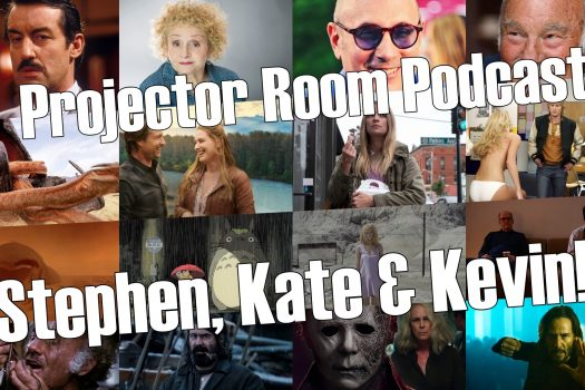 """#Podcast – Projector Room #96 """"Stephen, Kate and Kevin!"""", 22/09/2021"""